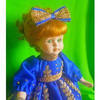 Кукла фарфоровая Мила, Германия (40 см)