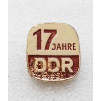17 jahre DDR. 17 лет основания ГДР. Германская Демократическая Республика #1292-CP22