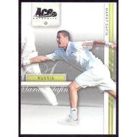 2007 Ace Authentic карточка Marat Safin теннис