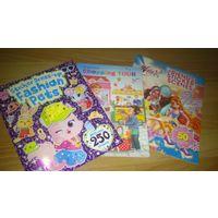 Набор журналов с наклейками и заданиями на английском языке