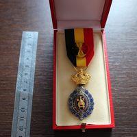 Медаль 1 степени, Бельгия (в родной коробке)