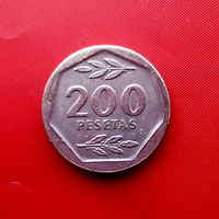 95-19 Испания, 200 песет 1988 г.