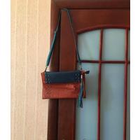 Дизайнерская сумка из натур кожи, Италия, бу мало