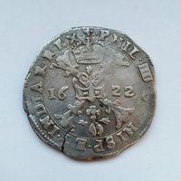 Талер (патагон) Испанские Нидерланды 1622 года