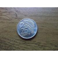 Тринидад и Тобаго 25 центов 2007