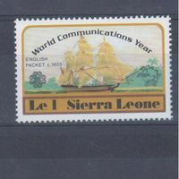 [1031] Сьерра-Леоне 1983. Корабли,парусники.