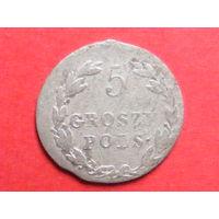 5 грошей pols. 1819 IB биллон