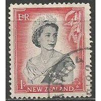 Новая Зеландия. Королева Елизавета II. 1953г. Mi#341.