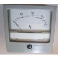 Вольтметр 0-75 V