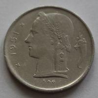 Бельгия, 1 франк 1951 г. 'BELGIE'