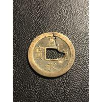 1 мон 1668-1700 Япония Сегунат Токугава