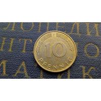 10 пфеннигов 1995 (F) Германия ФРГ #06