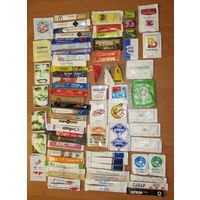 Глюкофилия. Сахар 74 пакетов из разных стран