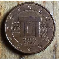 Мальта, 1 евроцент 2008