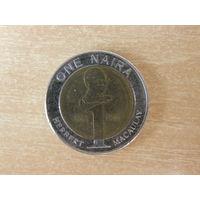 Нигерия 1 найра 2006 г.