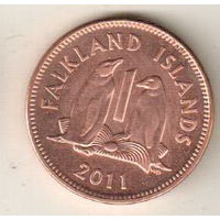 Фолклендские острова 1 пенни 2011
