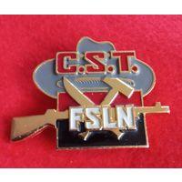 Знак.  FSLN.  C. S. T.