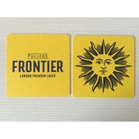 Подставка под пиво Fuller's Frontier London /Великобритания/