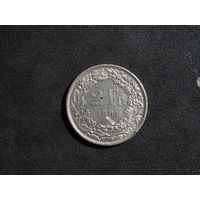 Швейцария 2 франка, 1981