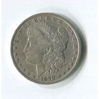 Морган доллар.1879