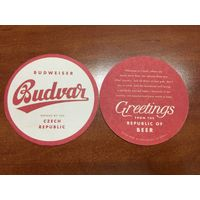 Подставка под пиво Budweiser Budvar No 1
