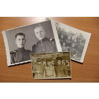 Фото солдат и сержантов, 3  шт.