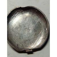 Крышка карманных часов серебро(84/875 пр)