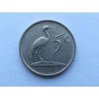 5 центов 1988 года. ЮАР