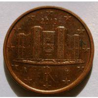 1 евроцент 2013 Италия