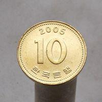 Южная Корея 10 вон 2005
