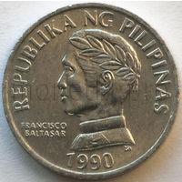 Филиппины 10 сентимо 1990 года. Франциско Балагтас