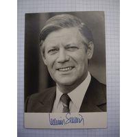 Фотография немецкого канцлера с автографом!