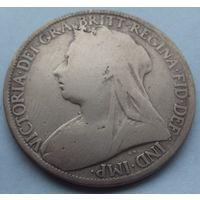 Британия. 1 пенни 1897