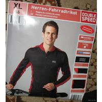 Термо мастерка мужская для катания на велосипеде , профессиональная, немецкой фирмы,  новая размер M, L,XL-