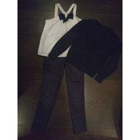 Комплект из 3 вещей. Брюки, блуза и кардиган
