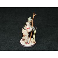 Солдат, солдатик Вермахта, 3 рейх, Германия, олово(оригинал).