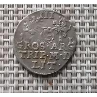 З гроша (Трояк) 1581 г Вильно.