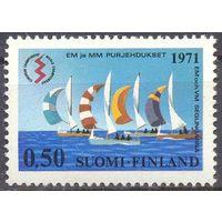 Финляндия парус яхты