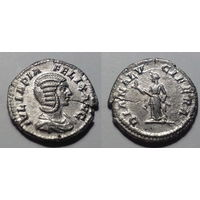 Римская Империя. Юлия Домна, чеканка при Каракалле, 211-215 гг, денарий.