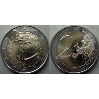 Словакия. 2 евро 2019 года Милан Ростислав Штефаник