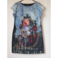 Платье с цветочным принтом Турция