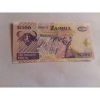 Замбия 500 квача 2008 год пластик состояние UNC