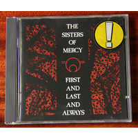 """The Sisters of Mercy """"First And Last And Always"""" (Audio CD - 1988)"""