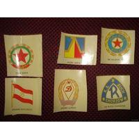Декали футбольных клубов Восточной Европы времён СССР