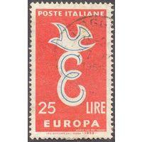 Италия Европа-Септ 1958 год