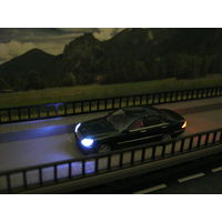 Модель Mercedes-Benz S-Klasse(LED 12 вольт). Масштаб HO-1:87.