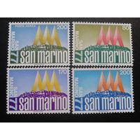 Сан-Марино 1977 фил. выставка полная серия
