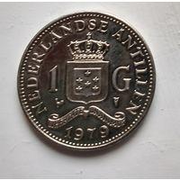 Нидерландские Антильские острова 1 гульден, 1979  2-9-7