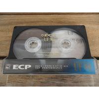 """Кассета ECP UF90 (Type I), записано: Д. Смольский. Симфонии NN3 и 8/ С. Кортес. Опера """"Джордано Бруно"""", выборочно"""
