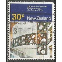 Новая Зеландия. 25 лет Парламентской конференции Содружества. 1979г. Mi#784.